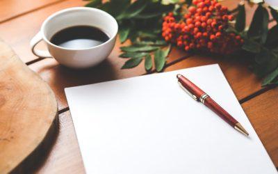 Scrivere una bozza, gli 8 passi per superare l'impasse della pagina bianca